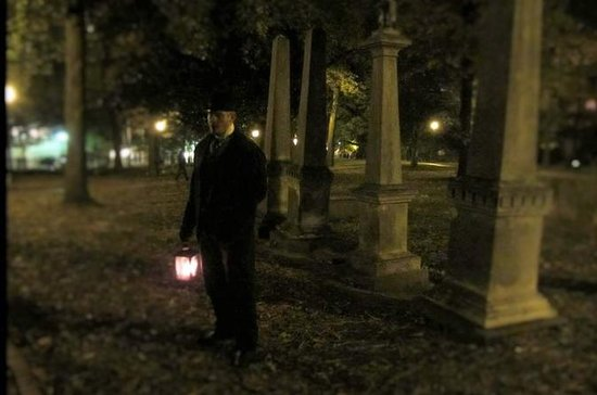 Utover den Grave Haunted History Tour