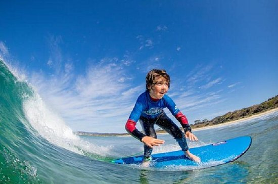 Aprende a surfear en Middleton Beach