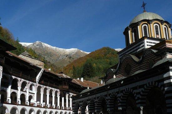 Tour du monastère de Rila en vélo...