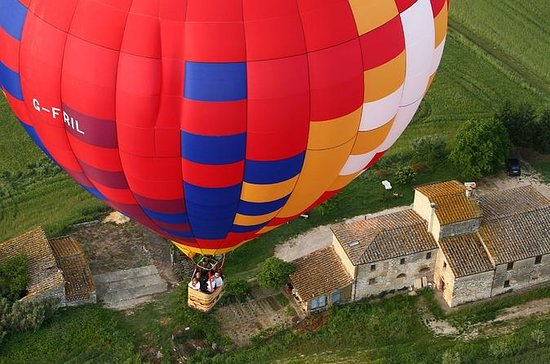 Balloons Flight over Tuscany