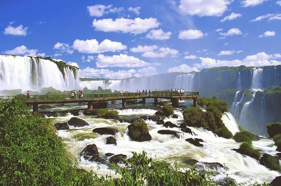 イグアスの滝ブラジル側:マクコサファリ、ヘリコプターフライトとバードパーク