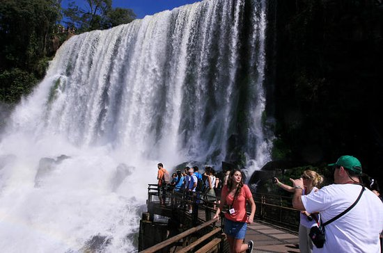 Cataratas do Iguaçu no lado argentino...