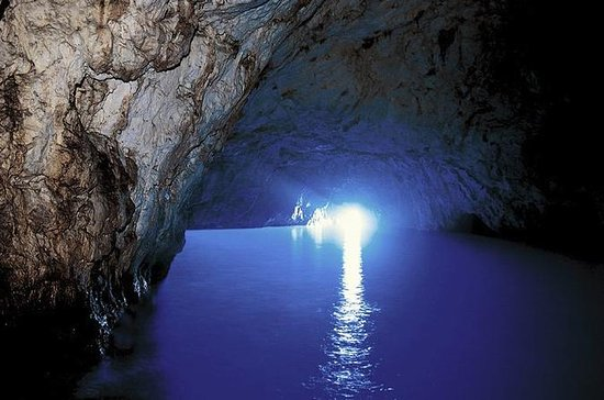 Capri og Blue Grotto Day Trip fra...