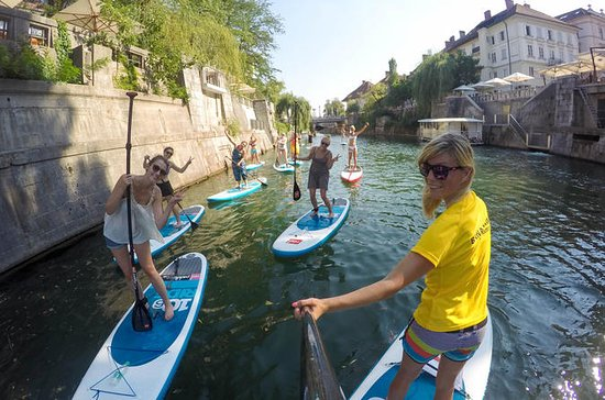 Ljubljana Stand-Up Paddle Boarding...