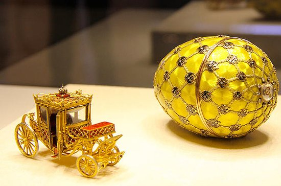 Faberge Museum Private Tour fra Sankt...