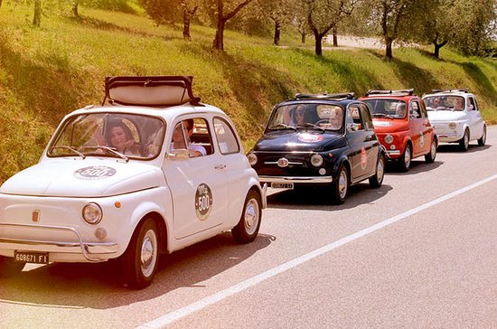 Fiat 500 Tour of the Chianti Roads...