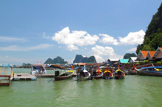 Phang Nga Bay Deluxe Tour to James Bond...