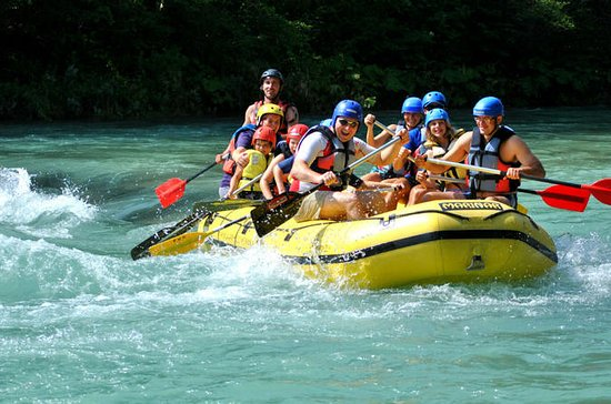 Wildwasserrafting in Bled