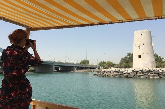 Private Abra Boat Cruise in Abu Dhabi