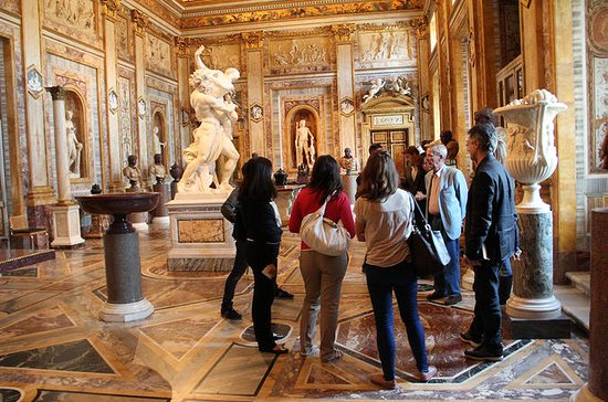 Small Group Borghese Gallery Tour...