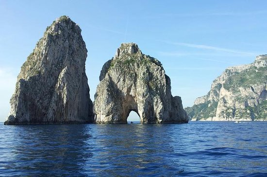 Capri tour in barca privata da