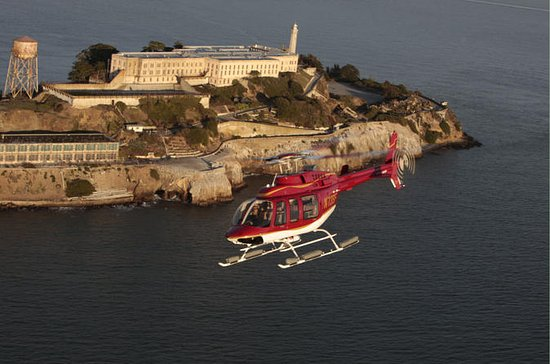 San Francisco Helicopter and Alcatraz Walking Tour