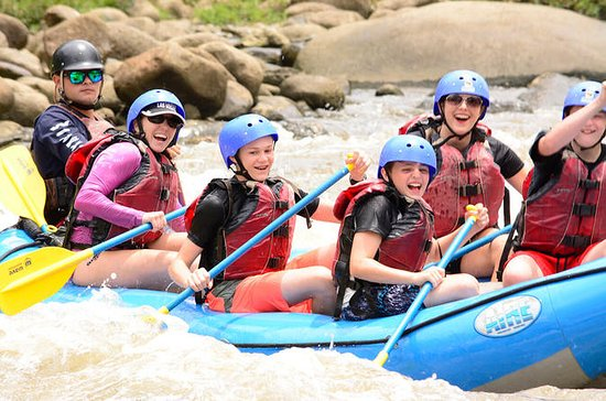 Excursion en rafting en classes...