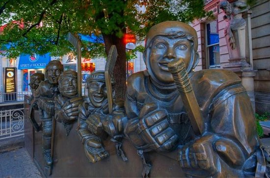 Inträde till Hockey Hall of Fame