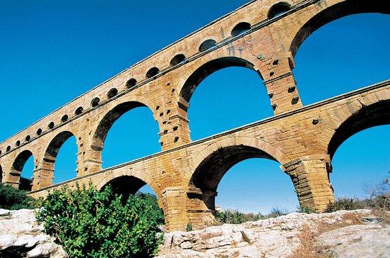 Liten gruppe Avignon og Pont du Gard...