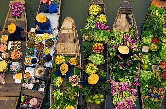 プライベートツアー: バンコク発ダムナン サドゥアック水上マーケットツアー
