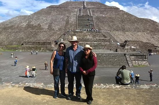 Mexico City to Teotihuacan and...