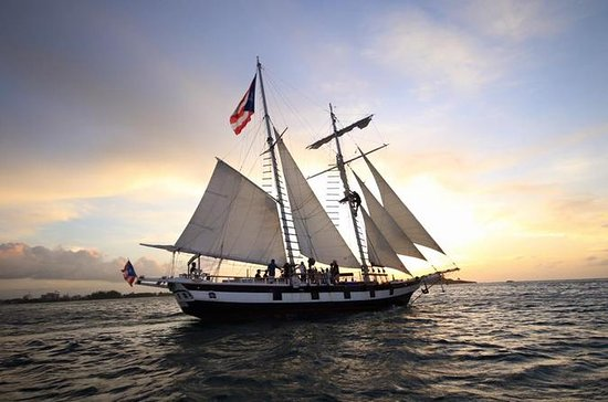 Old San Juan Sunset Sail on 19th-Century Style Schooner