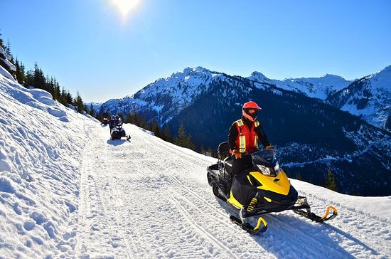 Whistler Snowmobile Tour