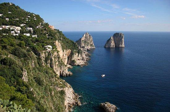 Capri Island: Dagstur fra Roma med den...