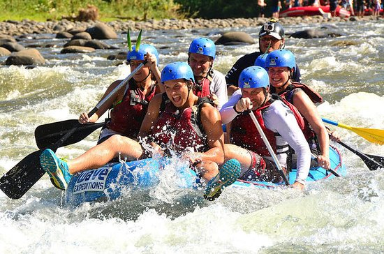 Rafting en eaux vives de classes...