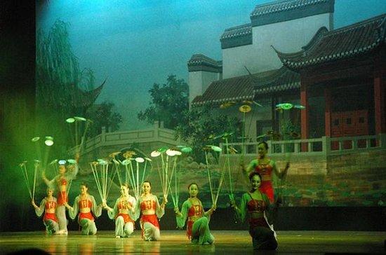 Shanghai Abendakrobatikshow mit...