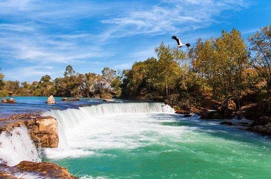 Manavgat-Wasserfälle und Basar per...