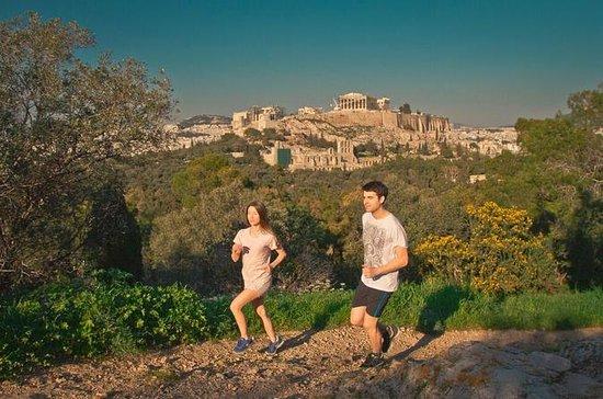 Visite en course à pied de l'Athènes...