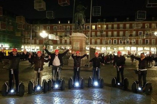 Madrid 1,5 Stunden Segway Night Tour