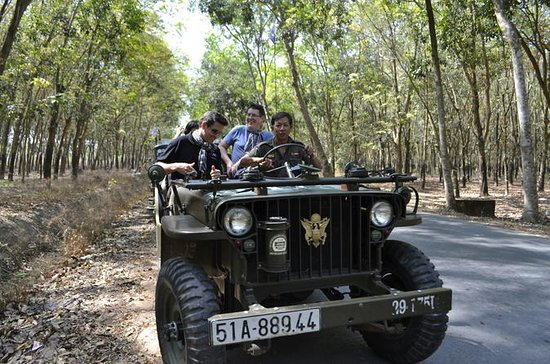 Half Day Cu Chi Tunnels by Jeep from