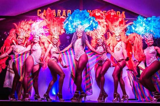 Spectacle authentique de samba à Rio...