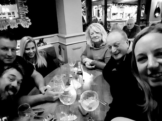 fantastic family christmas meal at the boot slipper