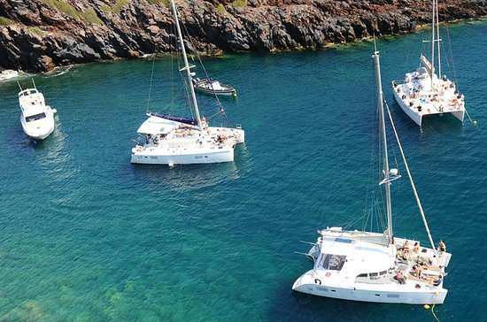 Half-Day Catamaran Cruise of Santorini
