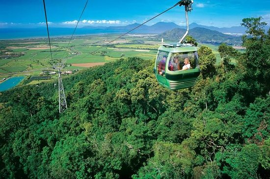 Skyrail Rainforest Cableway, Kuranda Markets and Jaques Coffee ...