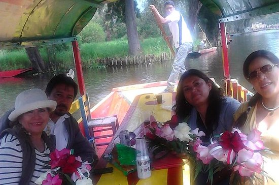 Excursion privée : Xochimilco...