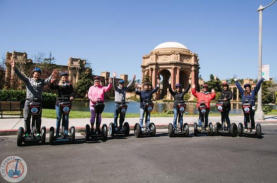 Fisherman's Wharf to Marina Guided Segway Tour in SF