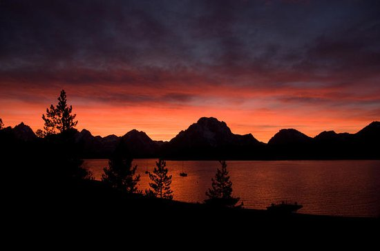Grand Teton-Tour bei Sonnenuntergang