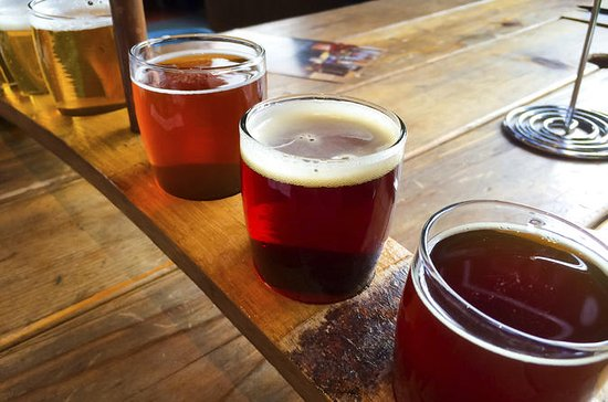 Washington DC Brewery Tour with Expert Guide, Food Pairings