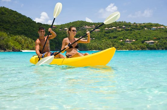 St Thomas Kayak and Sea Turtle Snorkel Tour including Lunch