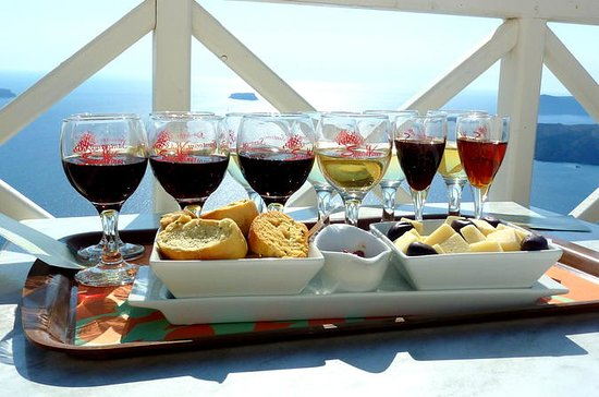 Private Half-Day Santorini Winery and...