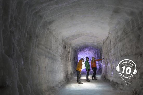 Ice Cave and Snowmobile Tour of