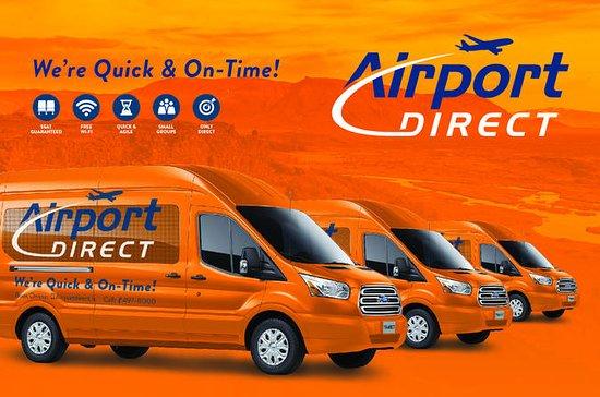 Airport Transfer Direct: Keflavik Airport to Reykjavik City Hotels...