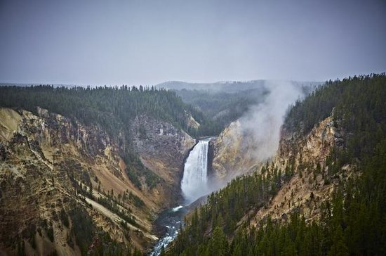 Grand Canyon de Yellowstone Trail...