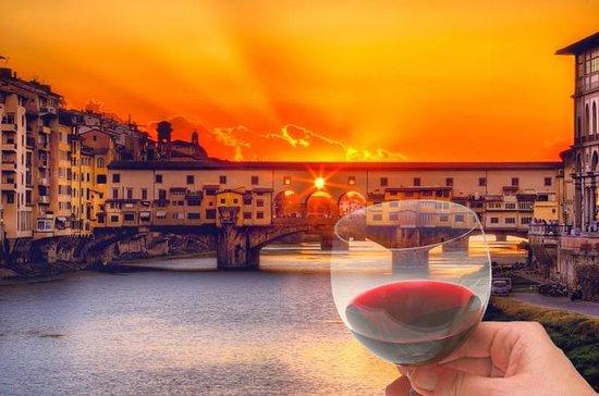 Florenz Sonnenuntergang Weintour