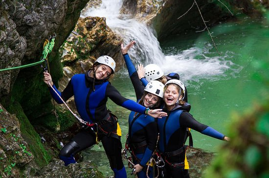 Canyoning See Bled Slowenien