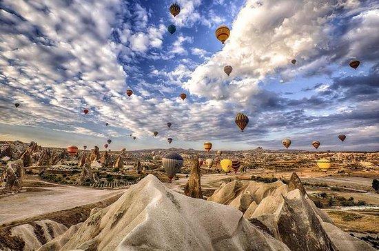 Passeio de balão de ar quente na...