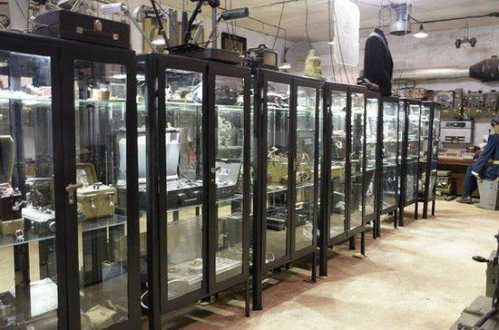 リトアニアのカーメルラバにある原子バンカー博物館
