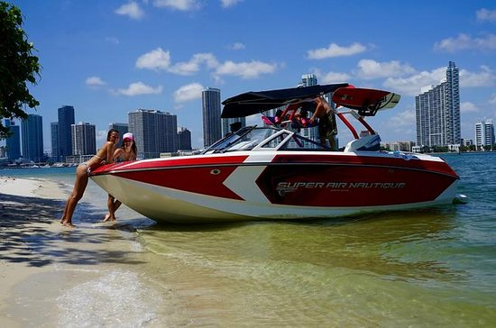 Boat Party in Miami Bay