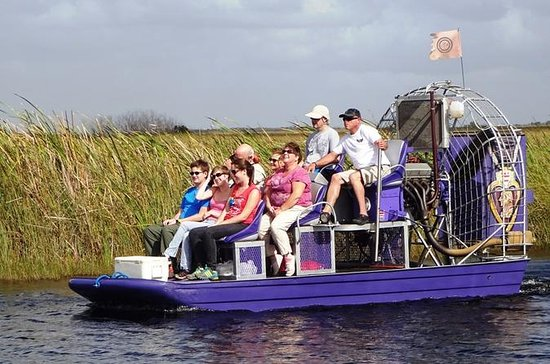 Economy-Shared Everglades Airboat...