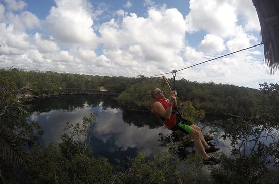 Tulum Jungle Experience: Ziplining...